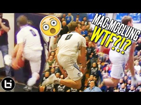 Mac McClung IN GAME EASTBAY DUNK + MJ Shrugs! The Best White Boy Dunker.. EVER?!?