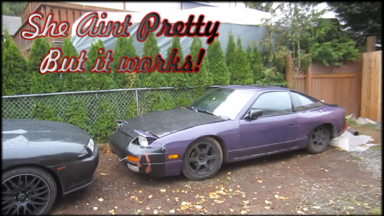 Test Driving Nissan Drift Parts Car Youtube