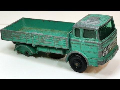 Matchbox Restoration Mercedes Truck Nr 1 Prod. 1967,renowacja Resoraka,toy Car,odnawianie Zabawki