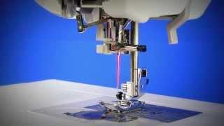 Видео по работе автоматического нитевдевателя на швейной машине BROTHER NV5000 LAURA ASHLEY(На данном видео показана работа автоматического нитевдевателя на Brother NV 5000., 2013-10-22T14:50:16.000Z)