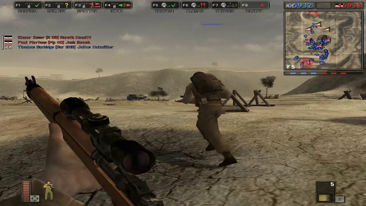 Battlefield 1942 - Explaining How to Get 255 Bots into the Game