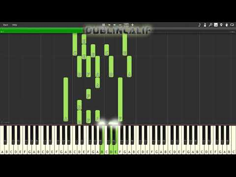 Pokemon X & Y - Emma's Theme Piano Tutorial Synthesia