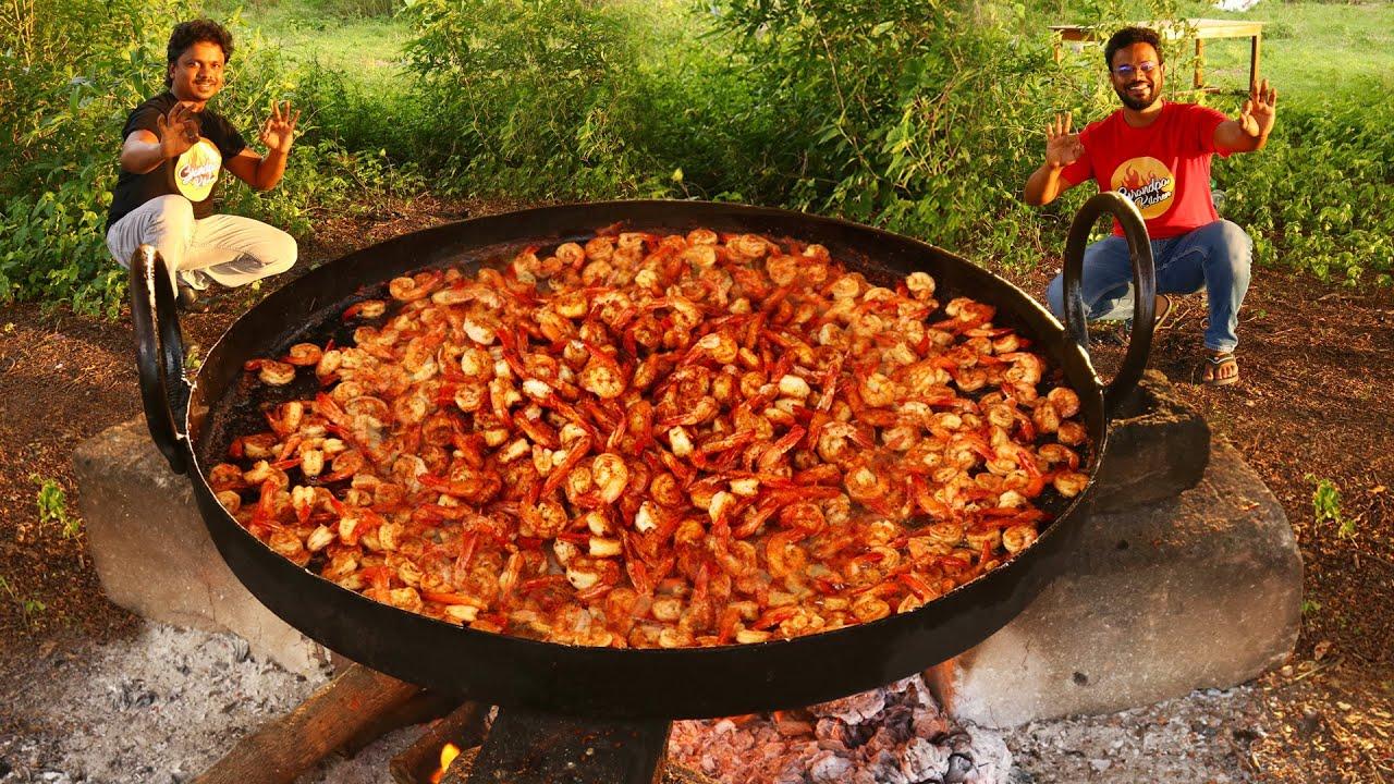 Browned Butter Honey Garlic Shrimp | Easy Garlic Shrimp Recipe | Grandpa Kitchen