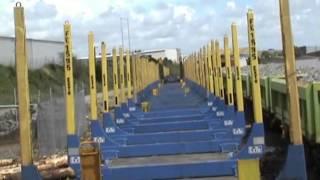 Loading the log train