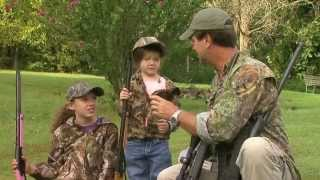 Squirrel Hunting with the Grandkids