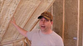 Building My Own Home: Episode 118 - Spray Foaming the Attic