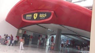 Formula Rossa World'S Fastest Roller Coaster At Ferrari World Abu Dhabi, Yas Marina Circuit - 13
