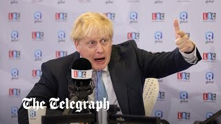 video: Boris Johnson channels Thatcher in defence of post-Brexit transition