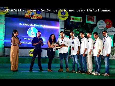 STARNITE - 2016 in Vitla.Dance Performance by Disha Dinakar
