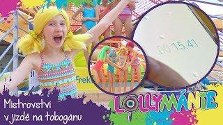 Lollipopz - Mistrovství v jízdě na tobogánu!