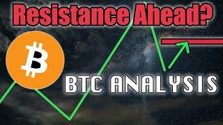 Bitcoin Resistance Ahead - BTC Analysis