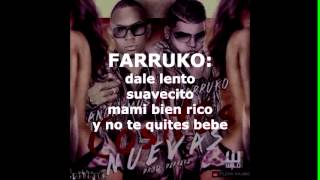 Anonimus Ft Farruko- Cositas Nuevas(letra)