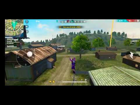 Garena free fire  how to use glider