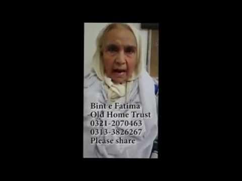 Bint-e-Fatima Old Home Trust Karachi