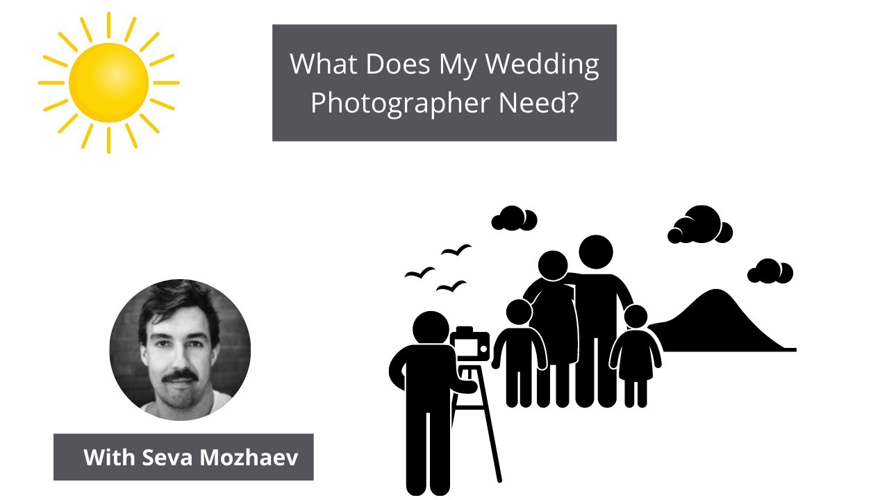 What Does My Wedding Photographer Need – Perth Wedding Tips