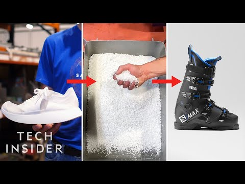 How Old Shoes Get Turned Into Ski Boots