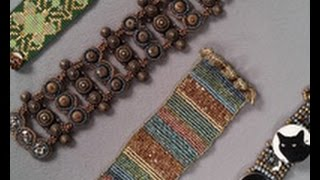 Learn About Flat & Circular Square Stitch with Jean Campbell on Beads, Baubles & Jewels (1912-3)