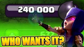 WE NEVER NEED DARK ELIXIR EVER AGAIN!? - Clash Of Clans