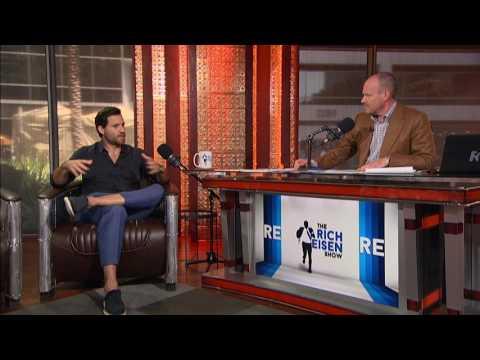 """Actor Edgar Ramirez of """"Hands of Stone"""" on Meeting Roberto Durán & Robert De Niro - 7/13/16"""