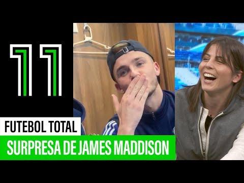 James Maddison surpreende Sofia Oliveira em direto!