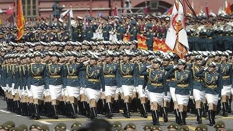 13.000 Soldaten: Russland veranstaltet riesige Militärparade trotz Corona