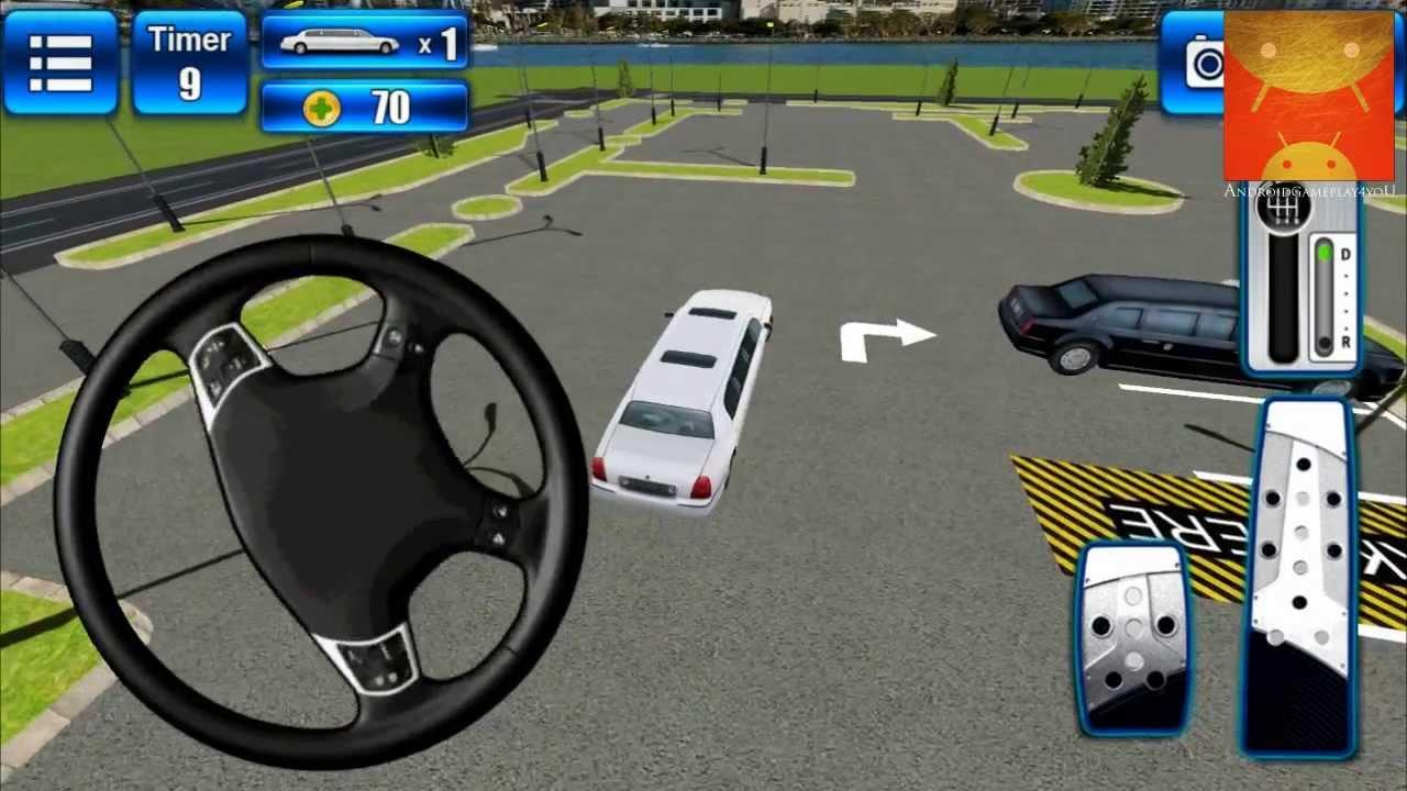 Valet Car Parking Game