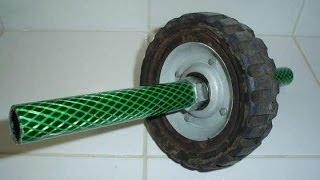 Как сделать колесо для пресса   самодельные тренажеры(Посмотрите мастер-класс, как самим сделать колесо для пресса. Это для тех, у кого нет времени на посещение..., 2014-05-24T13:26:47.000Z)