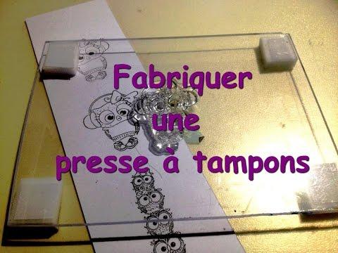 [ DIY Scrapbooking ] Fabriquer une presse à tampons
