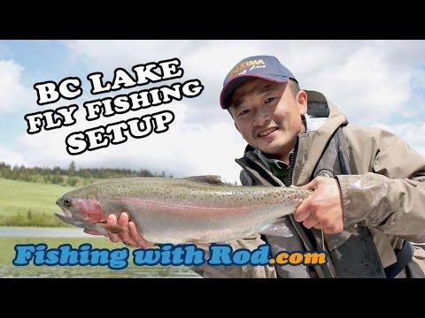 How To Fish: BC Lake Fly Fishing Setup