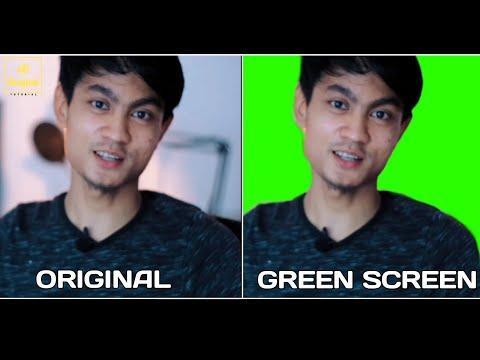Cara ROTOSCOPING membuat video GREEN SCREEN Tanpa Kain