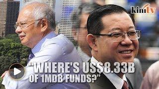 Where's US$8.33b of 1MDB funds, Lim asks Najib