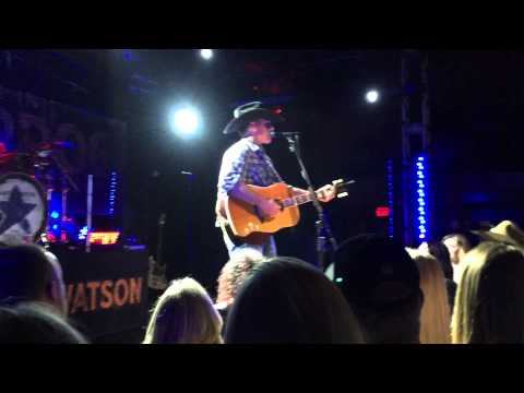 Aaron Watson - Fence Post Live at the Troubadour Los Angeles, CA