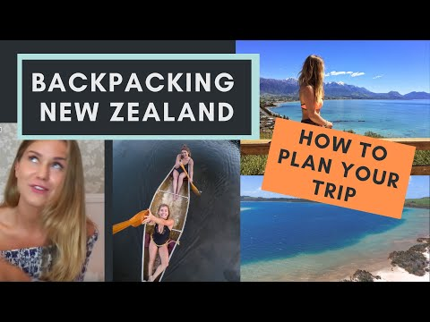 Backpacking New Zealand | Tips, Tricks and Planning your Trip | Mollie Bylett
