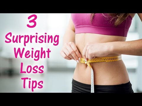 3 Surprising Ways to Lose Weight! Belly Fat Weight Loss Tips, Overeating, Bloating, Cravings, Health