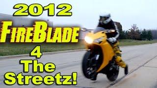 Best 1000cc Liter Bike For Street - Honda CBR1000rr Fireblade Motorcycle