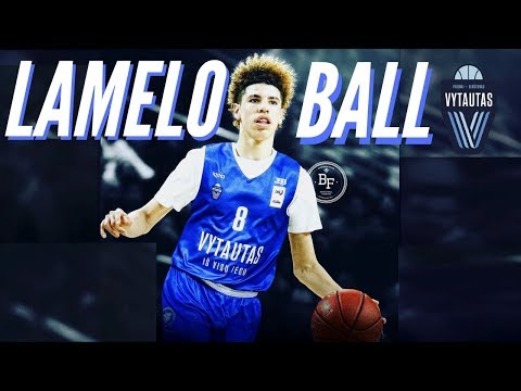 "LaMelo Ball  - ""Danger/Monday""ᴴᴰ (Lithuania Promo)"