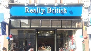 "SJWs try to shut down ""Really British"" shop"