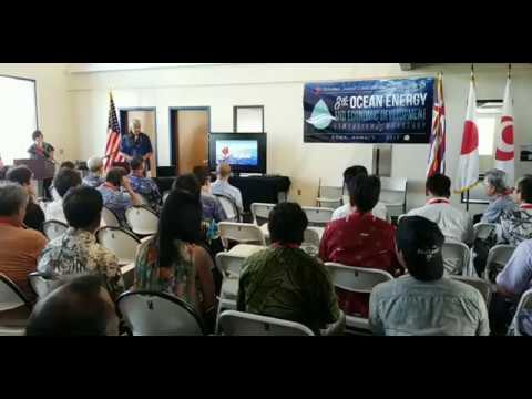 (Part 1--1st Day) 8th Ocean Energy and Economic Development Symposium & Workshop