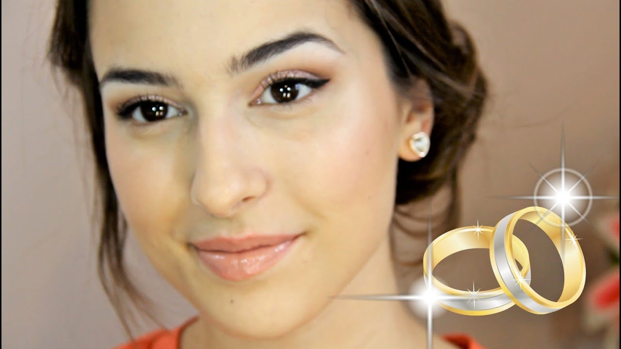 bridal makeup tutorial | outdoor wedding