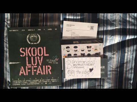 Kpop Unboxing #9 BTS Skool Luv Affair Album