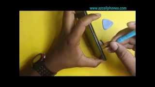 ZTE Z Max   back cover removal thumbnail