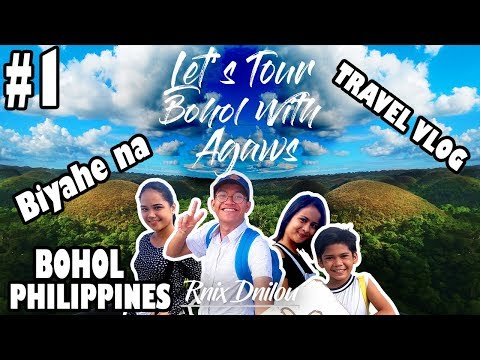 Bohol Philippines  - Let's Tour Bohol With Agaws [ 1st TRAVEL VLOG ]