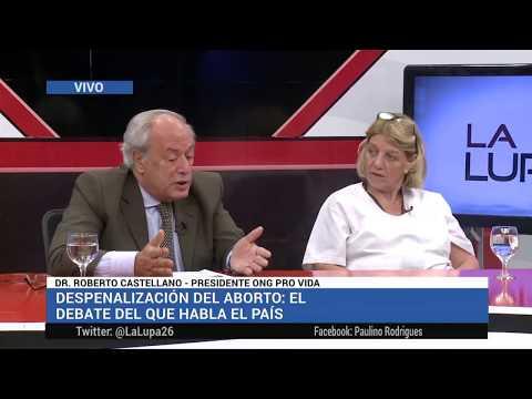 Dr. Roberto Castellano y Dra. Chinda Brandolino en La Lupa