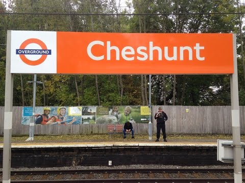Full Journey on London Overground (Class 315) from Liverpool Street to Cheshunt (via Seven Sisters)
