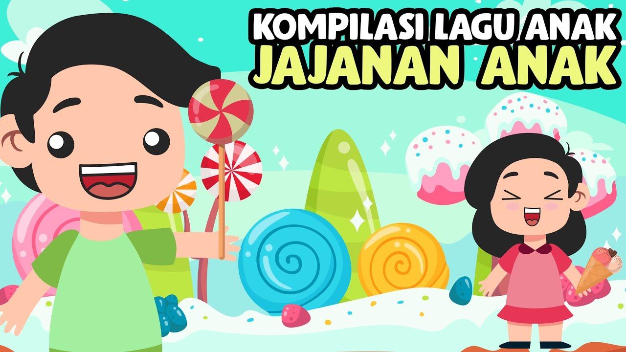 Kompilasi Lagu Anak Cokicokie TV | Tema Jajanan Anak