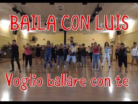 VOGLIO BALLARE CON TE Baby K | BALLI DI GRUPPO | BAILA CON LUIS 2017