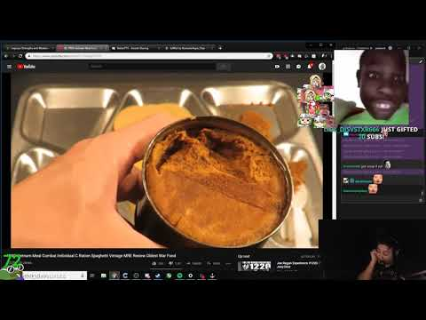 Pokelawls reacts to 1969 Vietnam Meal Combat Ration Review