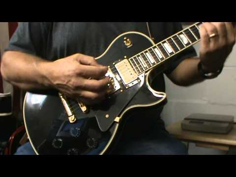 Gibson Les Paul Custom Black Beauty 3 Pickup with MSP III Wiring