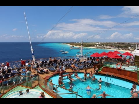 Carnival Breeze Grand Turk Time Lapse
