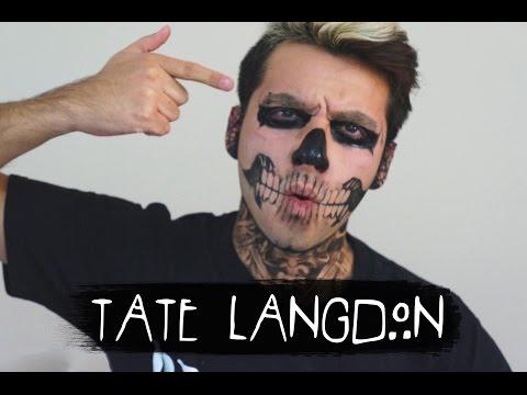 Tate Langdon (American Horror Story) | Maquillaje Con Acuarelas
